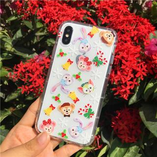 iPhoneケース クリスマス ダッフィー フレンズ 可愛い カバー 限定(iPhoneケース)