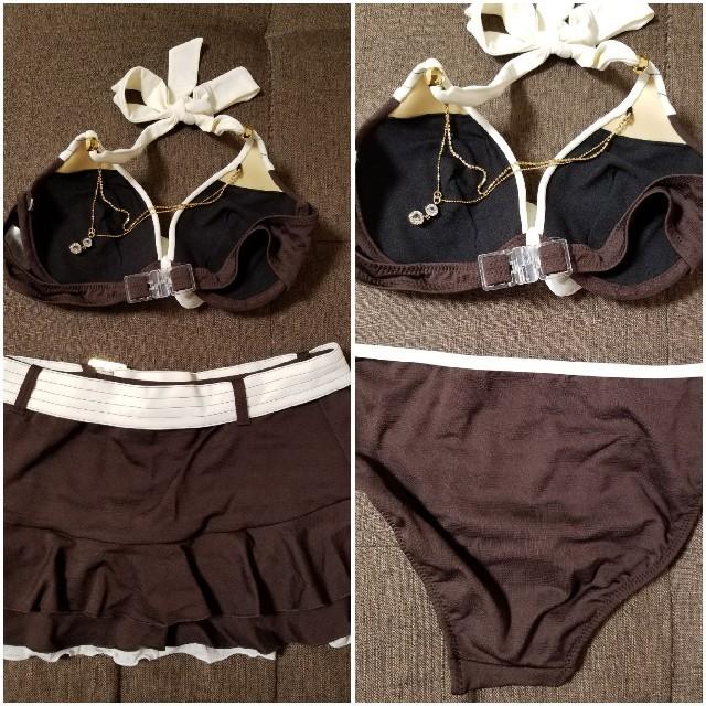 ニッセン(ニッセン)の水着 スカート付 Lサイズ レディースの水着/浴衣(水着)の商品写真