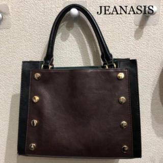 ジーナシス(JEANASIS)の【JEANASIS☆大人気完売商品】スクエアカラーブロックトート(ハンドバッグ)