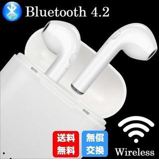 ワイヤレス イヤホン Bluetooth  ブルートゥース イヤフォン(iPhoneケース)