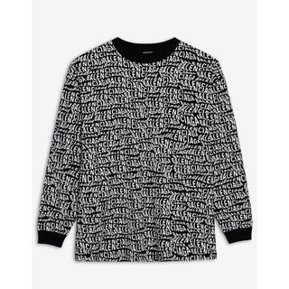 バレンシアガ(Balenciaga)の【最新作・完売済XXS】2019AW BALENCIAGA ロゴ オーバーサイズ(Tシャツ/カットソー(七分/長袖))