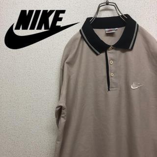 NIKE - NIKE ナイキ 90' 銀タグ ポロシャツ長袖 Lサイズ