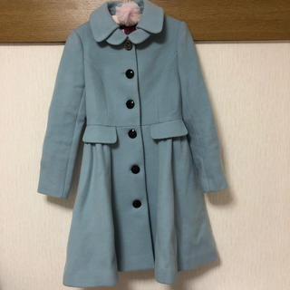 ドーリーガールバイアナスイ(DOLLY GIRL BY ANNA SUI)のDOLLY GIRL BY ANNA*SUI冬物水色コート(ロングコート)