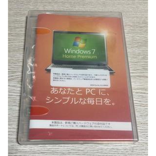 マイクロソフト(Microsoft)のwindows7 Home Premium(PC周辺機器)