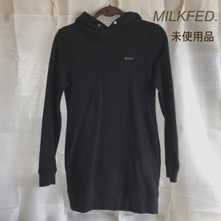 ミルクフェド(MILKFED.)の《未使用品》MILKFED. パーカーワンピース(ミニワンピース)