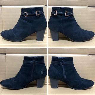 ヌォーボ(Nuovo)のABC MART ブーツ ブーティー 黒 スエード 冬 レディース ABCマート(ブーツ)