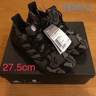 A BATHING APE - A BATHING APE × adidas ULTRA BOOST BLACK