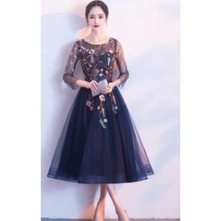刺繍 豪華 ドレス 結婚式 パーティー ドレス ワンピース (その他ドレス)