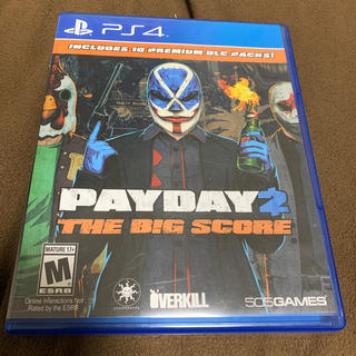 PlayStation4 - PS4 PAYDAY2 THE BIG SCORE