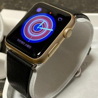Apple Watch - Apple Watch SERIES 1 42MM ゴールド アルミニウム