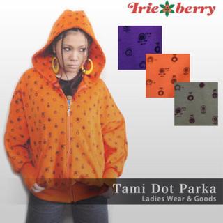 アイリーベリー(Irie Berry)のIRIE BERRY / JACK & TRIM ドットパーカー (パーカー)