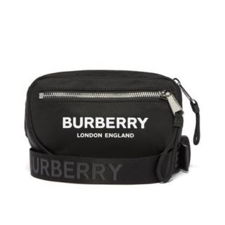 BURBERRY - 確実正規品 新品 19AW BURBERRY バーバリー ロゴ ベルトバッグ