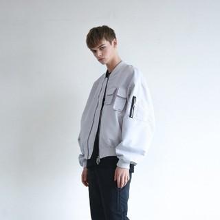 OY Zipper ma1 Jacket 韓国OY オーワイ ジャケット(ミリタリージャケット)