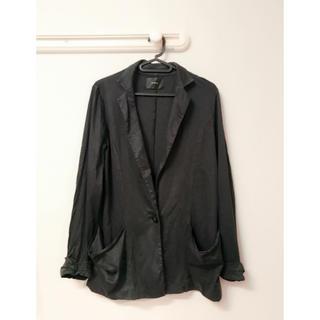 ムルーア(MURUA)のジャケット 黒 ムルーア テーラードジャケット(テーラードジャケット)