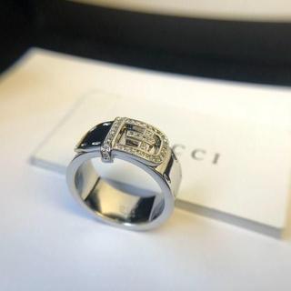 Gucci - 【美品】GUCCI リング(実寸20号)指輪 シルバー925