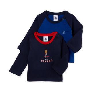 PETIT BATEAU - ☆SALE☆24m プチバトー 長袖Tシャツ2枚組