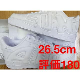 NIKE - NIKE CPFM Air Force 1 white 白 Trvis 26.5