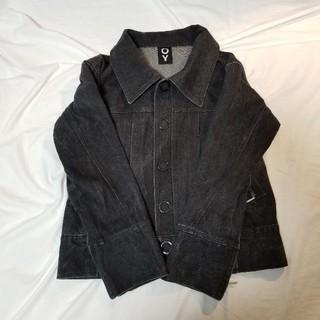 OY Black Denim Jacket 韓国OY オーワイ ジャケット(Gジャン/デニムジャケット)