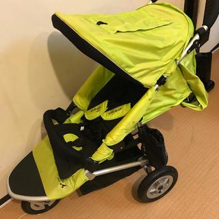 AIRBUGGY - Air Buggy mini エアバギー ミニ グリーン色 付属品多数