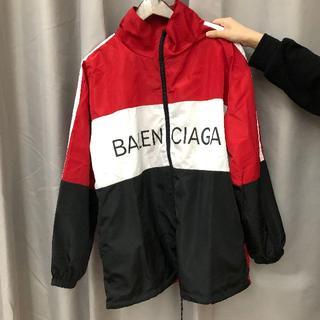 Balenciaga - BALENCIAGA トラックジャケット RED