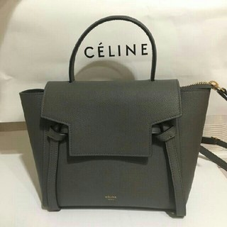celine - 正規品!セリーヌ ベルトバッグ ナノ