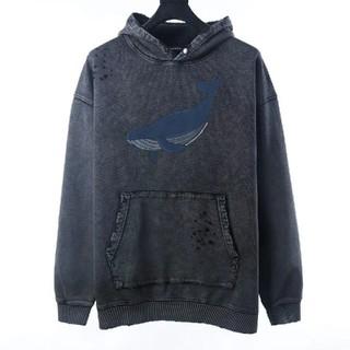 バレンシアガ(Balenciaga)のバレンシアガ ◇ 新作 ◇ オーバーサイズ クジラ パーカー(パーカー)