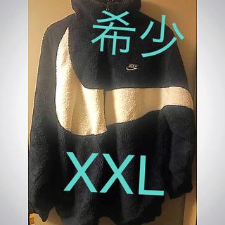 ナイキ(NIKE)のnike big swoosh boa jacket 2XL(XXL)(ブルゾン)