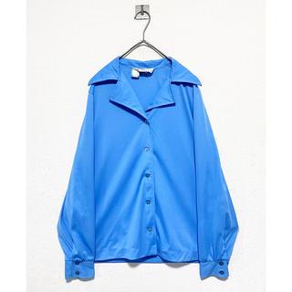 COMME des GARCONS - dead stock vintage 70s ヴィンテージ オープンカラーシャツ