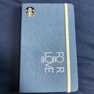 スターバックスコーヒー(Starbucks Coffee)のスターバックス 2020 手帳 ブルー 台湾限定(カレンダー/スケジュール)