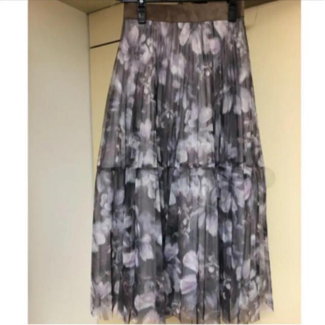 Rirandture(リランドチュール)の新品未使用⭐️ Rirandture グラデチュールプリーツスカート レディースのスカート(ロングスカート)の商品写真