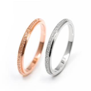 サイズ充実★関節リングやピンキーリングにも使える!チタンステンレスリング指輪(リング(指輪))