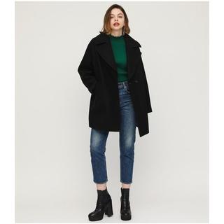 SLY - SLY   BIG COLLAR COCOON COAT