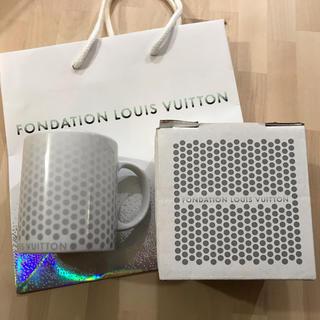 ルイヴィトン(LOUIS VUITTON)のフォンダシオン ルイヴィトン マグカップ(グラス/カップ)