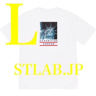 Supreme - 白 L Supreme The North Face Tee ノース Tシャツ