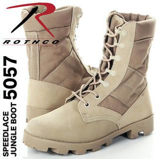 ロスコ(ROTHCO)の【新品】ROTHCO ロスコ ジャングルブーツ 5057 タン 11 29cm(ブーツ)