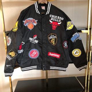 NIKE - supreme Nike NBA Teams warm-up jacket L