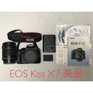 Canon - Canon デジタル 一眼レフ カメラ EOS Kiss X7 レンズキット