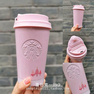 スターバックスコーヒー(Starbucks Coffee)のエルマ クリスマス 台湾中国スターバックス ステンレスタンブラー バレンタイン(タンブラー)