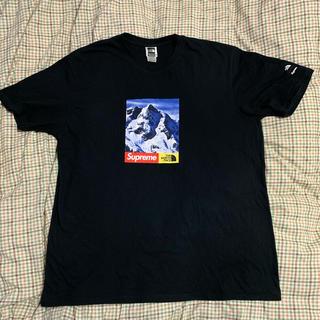 シュプリーム(Supreme)のsupreme ×the north face雪山 Tシャツ(Tシャツ/カットソー(半袖/袖なし))