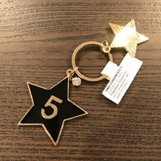 フランフラン(Francfranc)の【新品・未使用】フランフラン スター 星 SMAP チャーム キーホルダー(キーホルダー)