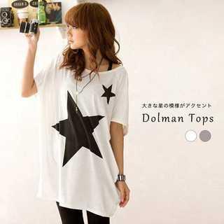 ★2カラー ドルマンTシャツ★(カットソー(半袖/袖なし))