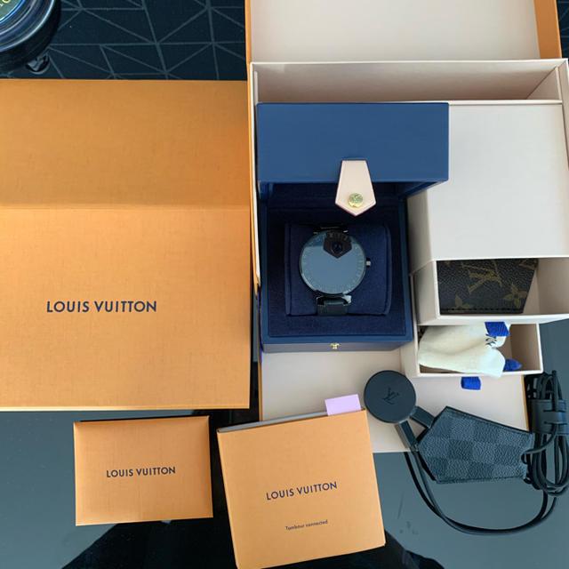 LOUIS VUITTON - ルイヴィトン タンブールホライゾンブラック コネクテッド スマートウォッチの通販 by SALE中!|ルイヴィトンならラクマ