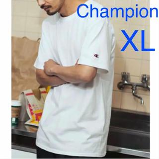 チャンピオン(Champion)の新品 Champion ビッグシルエット Tシャツ チャンピオン XL ホワイト(Tシャツ/カットソー(半袖/袖なし))