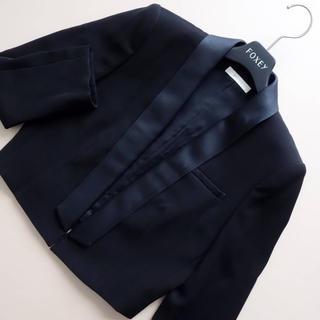 EPOCA - ■エポカ■ 38 ショートジャケット 黒 EPOCA