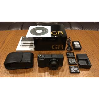 リコー(RICOH)のRICOH GR(コンパクトデジタルカメラ)