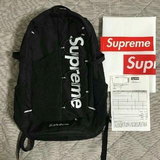 Supreme - Supreme 17ss バックパック backpack 黒