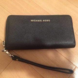 Michael Kors - 美品 スマホ収納 財布