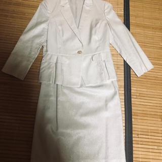 アナイ(ANAYI)の美品アナイ セットアップ36オフホワイト(スーツ)