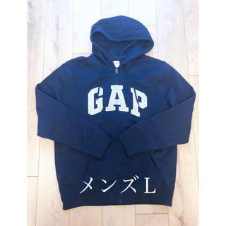 ギャップ(GAP)の新品!GAPパーカー♡メンズL♡ネイビー(パーカー)