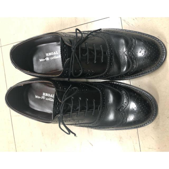 REGAL(リーガル)のリーガルのウィングチップ 断捨離 メンズの靴/シューズ(ドレス/ビジネス)の商品写真